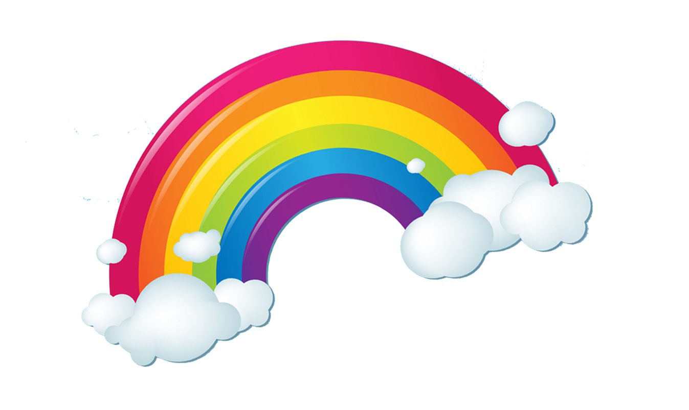 rainbow cloud png 6
